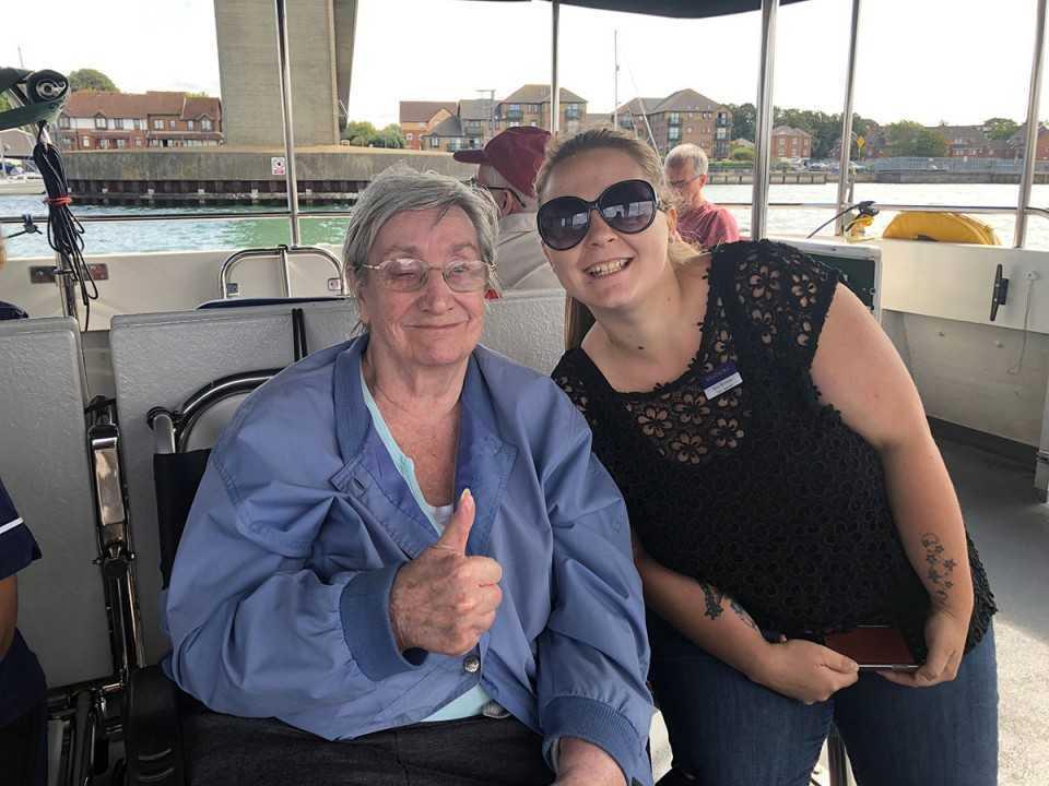 Royal Navy Veterans Take a Step Back in Time on Southampton Water
