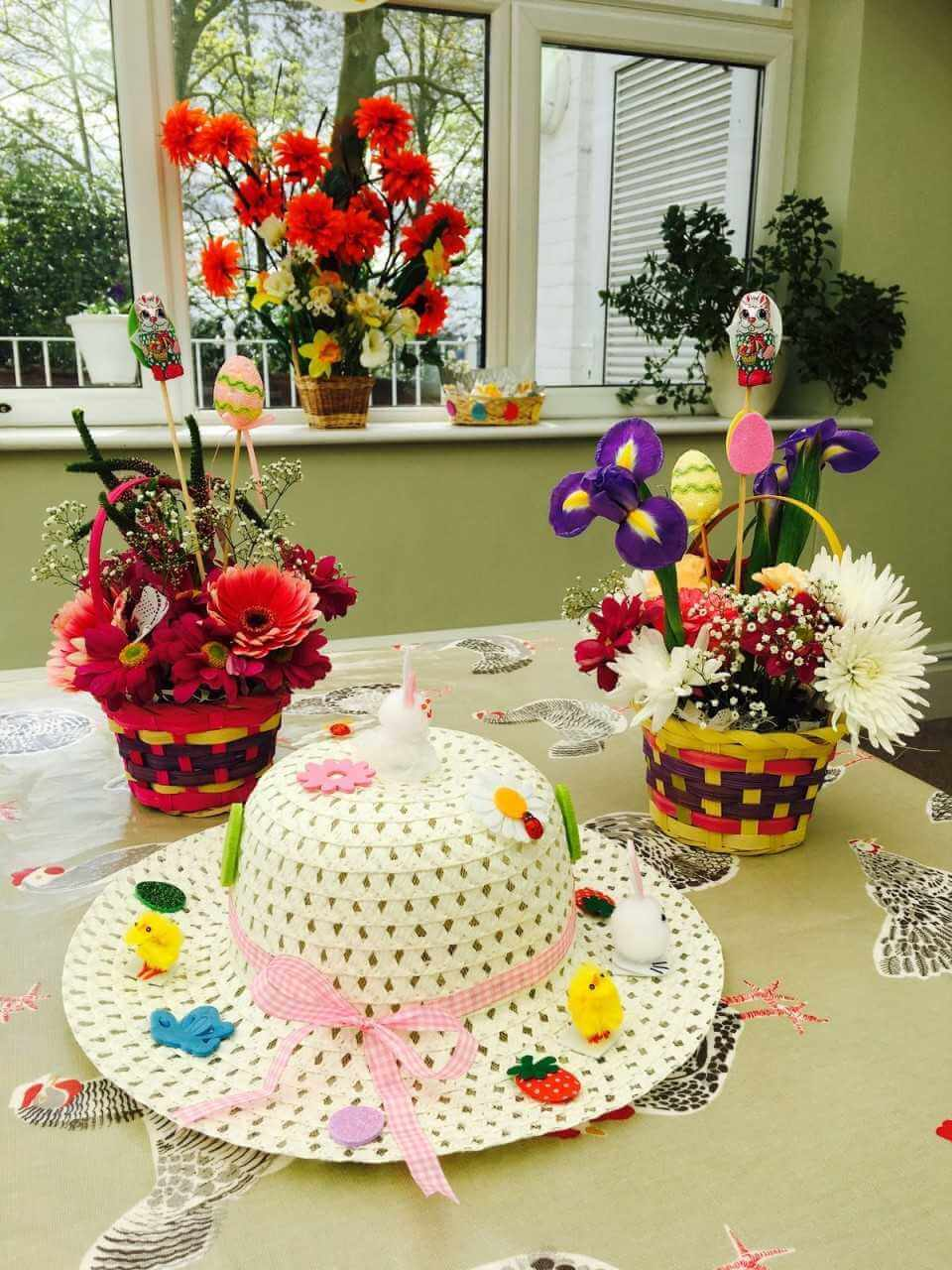 Crafts for the elderly in nursing homes - Easter Crafts